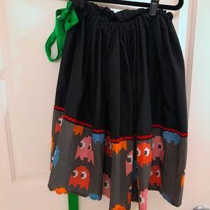 Dresses & Skirts - Pac Man Ghost Skirt 1-Of-A-Kind Handmade OSFM